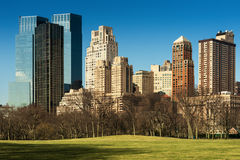 Central Park Royaltyfria Foton