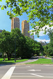 The Central Park Stock Image