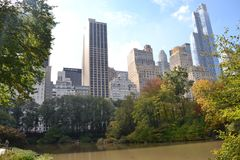 central park Fotografia Royalty Free