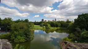 Central Park Fotografia Stock