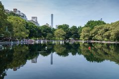 Central Park Images libres de droits