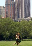 Central Park Stockbild