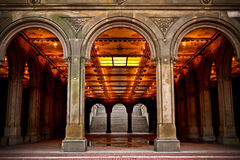 Central Park Archway Royalty Free Stock Images