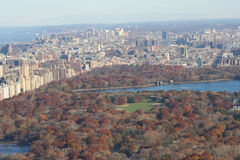 Central Park in autumn Royalty Free Stock Images