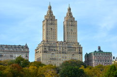 Central Park in the autumn. Manhattan, New York, USA. Royalty Free Stock Photography