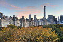 Central Park, Autumn, New York Royalty Free Stock Photo