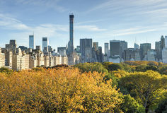 Central Park, Autumn, New York Royalty Free Stock Images