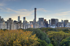 Central Park, Autumn, New York Stock Photos
