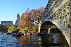 Central Park in the autumn, NYC Royalty Free Stock Photo