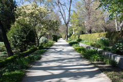 Central Park av Madrid, Spanien Royaltyfri Bild