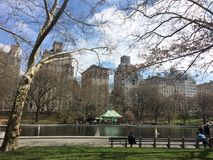 Central Park, beautiful Stock Photo