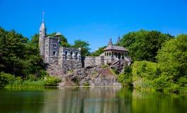 Central Park Belvedere-Schloss lizenzfreies stockbild