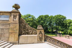 Central Park Bethesda Terrace stairs New York. Central Park Bethesda Terrace stairway New York US Royalty Free Stock Photography