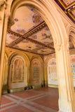 Central Park Bethesda Terrace underpass arcades. New York Us Royalty Free Stock Photos