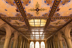 Central Park Bethesda Terrace underpass arcades Royalty Free Stock Photography