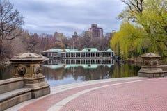 Central Park Boathouse zdjęcie stock
