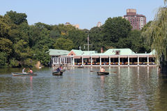 Central Park Boathouse Royalty Free Stock Images