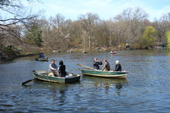 Central Park Boats Stock Image