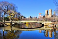 Central Park Bridge Royalty Free Stock Images