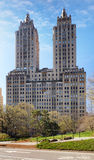 Central Park and buildings in midtown Manhattan New York City Royalty Free Stock Image