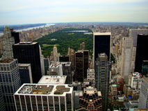 Central Park at the center of Manhattan in New York City Stock Image