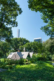 Central Park chałupa fotografia stock