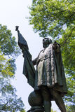 Central Park Christopher Columbus statue Royalty Free Stock Image