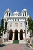 Central park Church, Brasov, Romania Royalty Free Stock Images