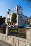 Central park Church in Brasov, Romania Royalty Free Stock Photography