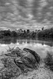 Central Park on cloudy day Stock Photography