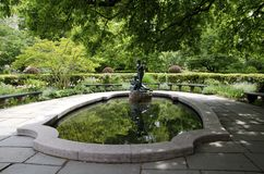 Central Park conservador do jardim Imagens de Stock