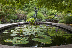 Central Park conservatory gardens Stock Photography
