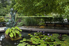 Central Park conservatory gardens Royalty Free Stock Image