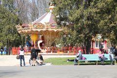 Central Park of Culture and Leisure in Kharkov, Ukraine Royalty Free Stock Images