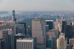 Central Park d'en haut Images libres de droits
