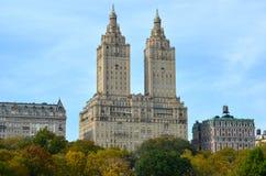 Central Park in de herfst Manhattan, New York, de V Royalty-vrije Stock Fotografie