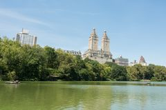Central Park in de Stad NYC van New York Royalty-vrije Stock Foto