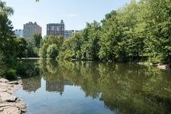 Central Park in de Stad NYC van New York Royalty-vrije Stock Fotografie