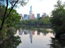 Central Park, de Stad van Manhattan, New York Stock Afbeeldingen