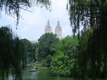 Central Park in de Stad van New York stock afbeeldingen