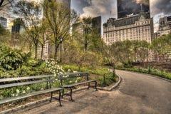 Central Park, de Stad van New York royalty-vrije stock afbeelding