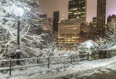 Central Park, de Stad van New York Stock Fotografie