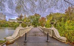 Central Park del ponte dell'arco Immagini Stock
