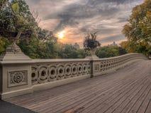 Central Park del ponte dell'arco Immagini Stock Libere da Diritti