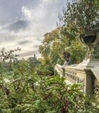 Central Park del puente del arco Foto de archivo