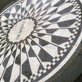 Central Park-Denkmal zu John Lennon NYC Lizenzfreies Stockbild