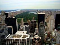 Central Park in der Mitte von Manhattan in New York City stockbild