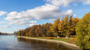 Central Park di Sankt-Peterburg Fotografia Stock Libera da Diritti