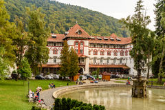 Central Park Dimitrie Ghica In Sinaia Stock Photography