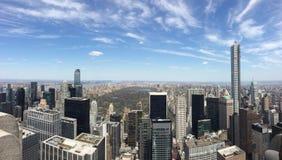 Central Park do de da vista, NY fotos de stock